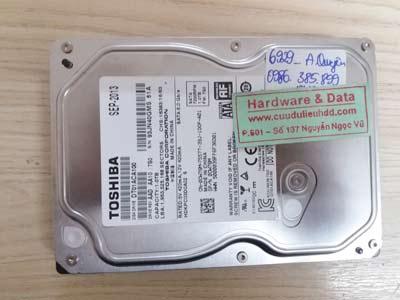 Lấy lại dữ liệu Toshiba 1TB