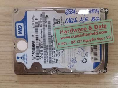 Cứu dữ liệu ổ cứng toshiba 500GB