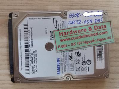 6908 Samsung 640GB chết cơ