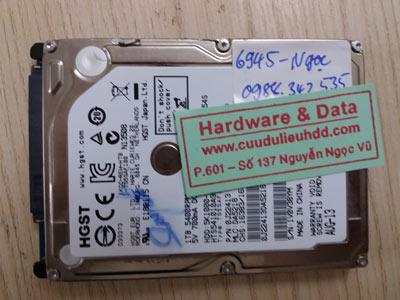 Khôi phục dữ liệu Hitachi 500GB