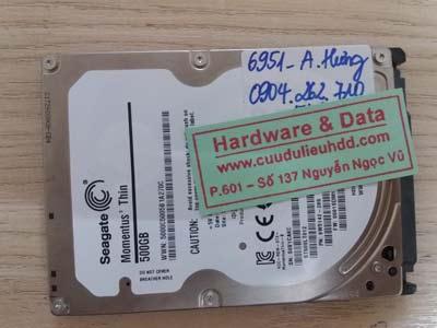 khôi phục dữ liệu ổ cứng ST500LT012