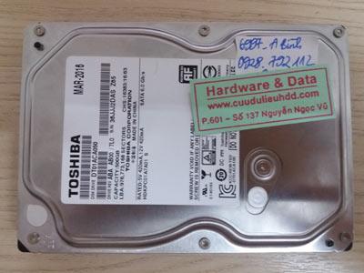 6977 Toshiba 500GB đầu từ lỗi