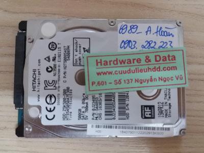6989 hitachi 500GB recover gộp ổ