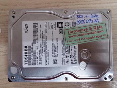 7009 Toshiba 500GB đầu từ lỗi