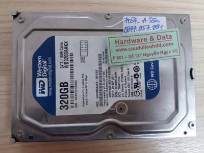 7054 Western 320GB đầu từ lỗi