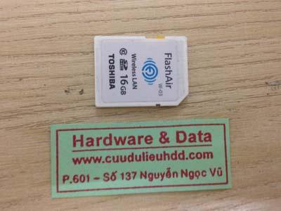 Cứu dữ liệu thẻ nhớ 16GB