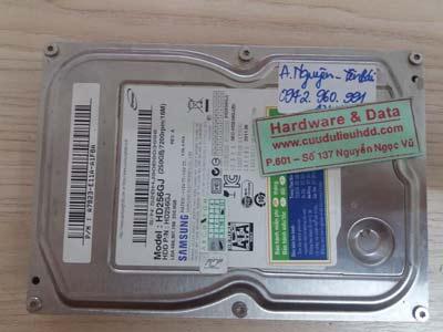 Khôi phục dữ liệu Samsung 250GB