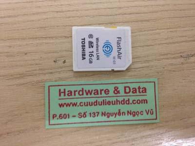 Cứu dữ liệu thẻ nhớ 8GB