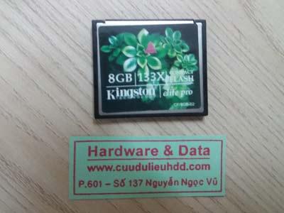 Cứu dữ liệu thẻ 8GB