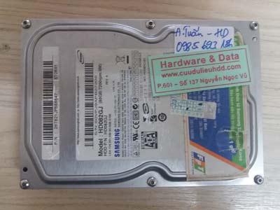 Lấy lại dữ liệu ổ cứng HD082GJ