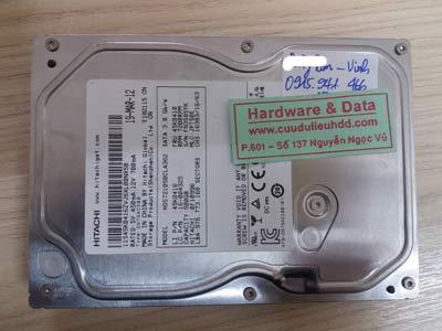 1 12 Hitachi 500GB chết cơ