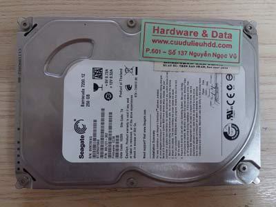 14/12 Seagate 250GB mất dữ liệu