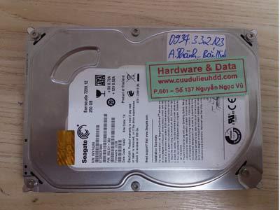 15-12 Seagate 250GB lỗi cơ