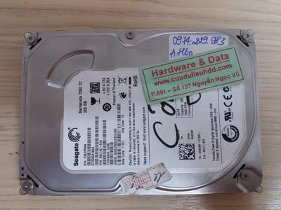 Seagate 320GB lỗi cơ