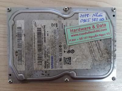 7080 Samsung 320GB chết cơ