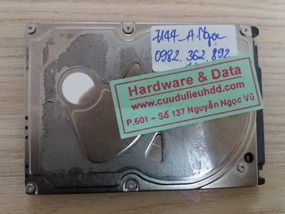 7144 Seagate 640GB lỗi đầu đọc
