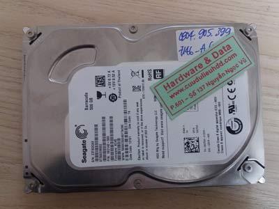 7146 Seagate 500GB hỏng đầu từ