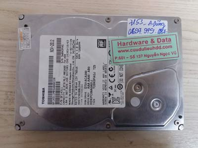 7153 Toshia 2TB mất điện đột ngột
