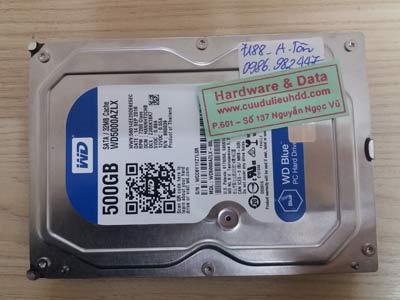 7188 Western 500GB chết cơ