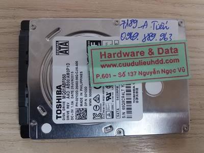 7189 toshiba 500GB đầu từ lỗi