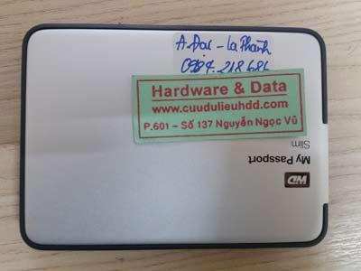 11 1 Western 1TB cắm máy Mac mất dữ liệu