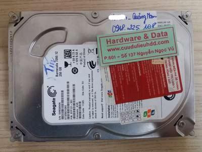 12/1 Seagate 250GB lỗi cơ