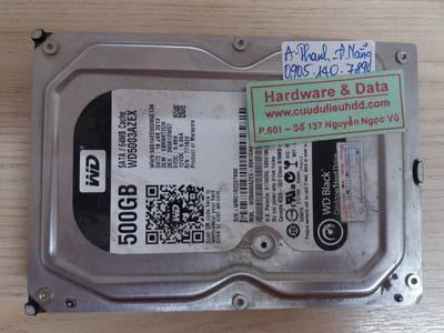 18 1 Western 500GB lỗi đầu từ