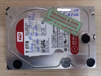 23 12 Western 2000GB hỏng cơ