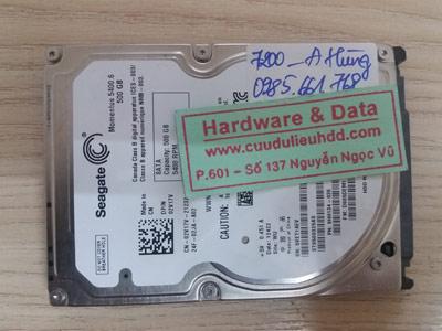 7200 Seagate 500GB Cài win mất dữ liệu