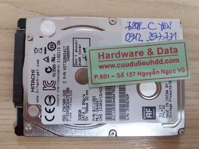 7208 Hitachi 320GB đầu từ lỗi