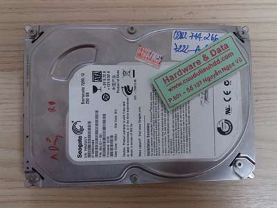 7222 Seagate 250GB đầu từ lỗi