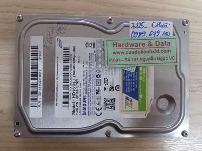 7225 Samsung 160GB đầu từ lỗi