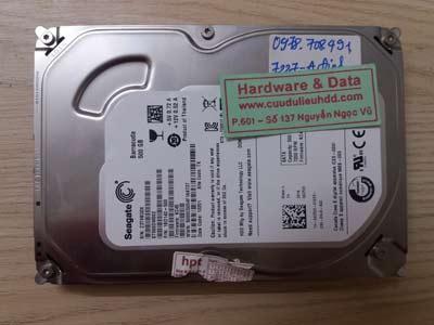 7227 Seagate 500GB đầu đọc lỗi