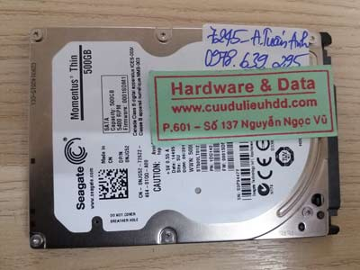 7245 Seagate 500GB Bitlocker