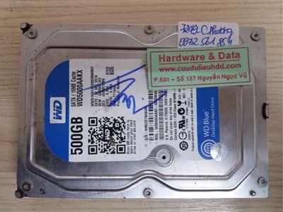 7249 Western 500GB chết cơ