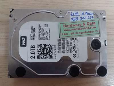 7259 Western 500GB đầu từ lỗi
