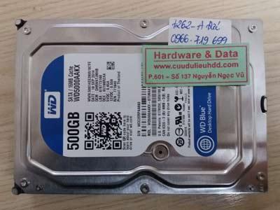 7262 Western 500GB mất dữ liệu