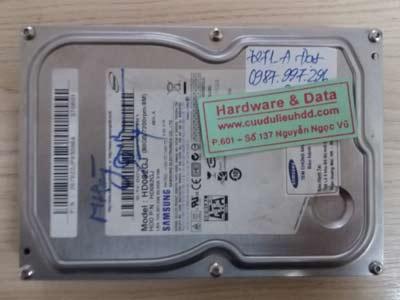 7271 Samsung 80GB đầu từ lỗi