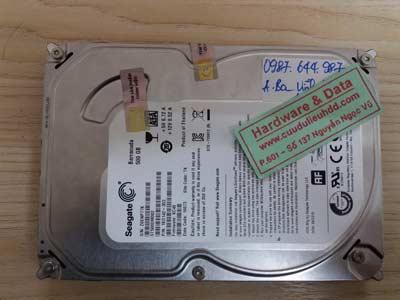 25-1 Seagate 500GB hỏng cơ