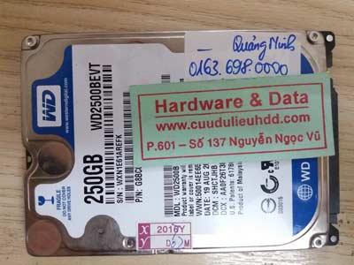 3-2 Western 320Gb mất dữ liệu