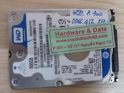 7299 Western 500GB chết cơ