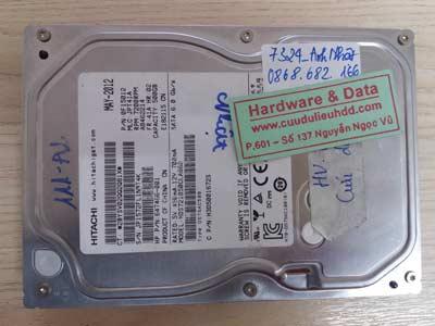 7324 Hitachi 500GB chết cơ