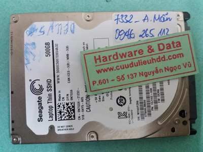 7332 Seagate 500GB chết cơ