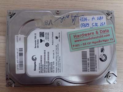7334 seagate 320GB hỏng đầu đọc