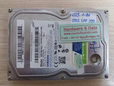 7339 Samsung 160GB chết cơ
