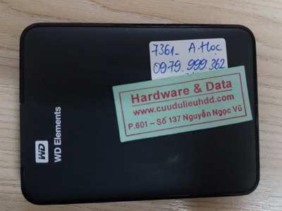 7361 Box 500GB mất dữ liệu
