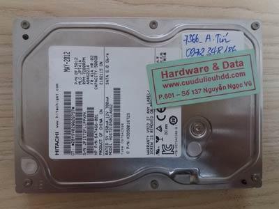7366 Hitachi 500Gb đầu đọc lỗi