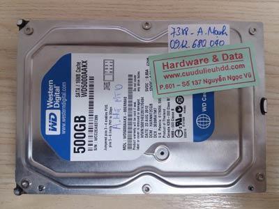 7388 Western 500GB chết cơ