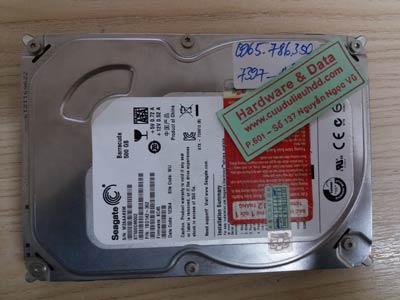 7397 Seagate 500GB đầu từ lỗi