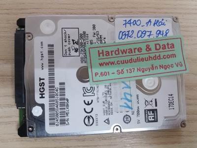7400 Hitachi 500GB lỗi đầu đọc